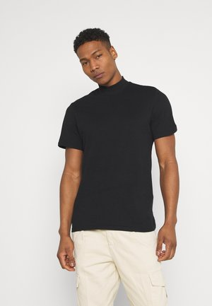 ONSKIT LIFE MOCK NECK TEE - T-shirt - bas - black