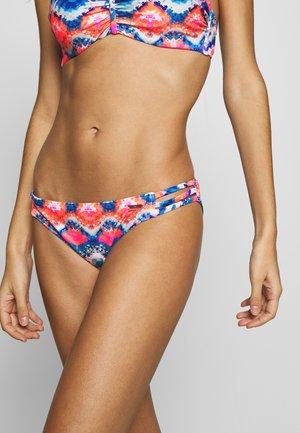 PANTS STRAPS - Bikini bottoms - blue/orange