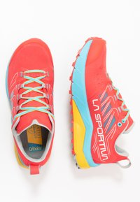 La Sportiva - JACKAL WOMAN - Trail running shoes - hibiscus/malibu blue - 1
