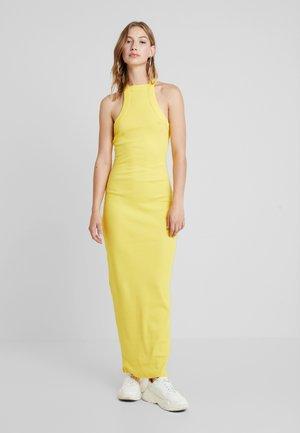 Koktejlové šaty/ šaty na párty - yellow