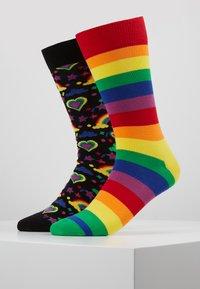 Happy Socks - PRIDE GIFT BOX 2 PACK - Socks - multi - 0