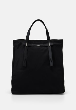 MAN GIOVE SHOPPER TESSUT - Tote bag - nero