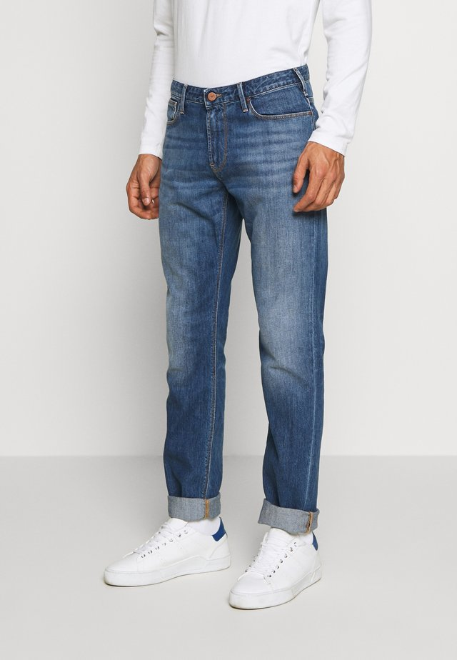 Jeansy Slim Fit - blue denim