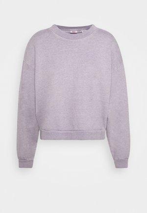 DIANA CREW - Felpa - heather lavender frost garment