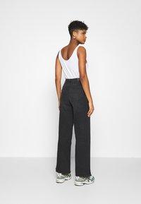 Lee - STELLA A LINE - Flared Jeans - captain black - 2