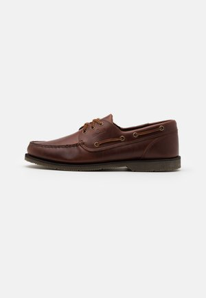 FORESIDER - Boat shoes - brown
