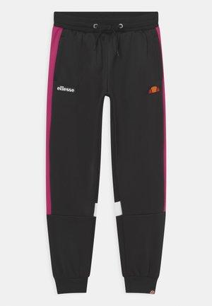 NINO - Joggebukse - black/pink