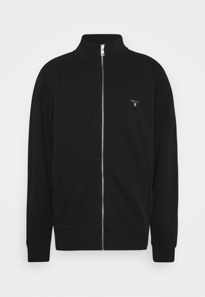 THE ORIGINAL FULL ZIP  - Felpa aperta - black