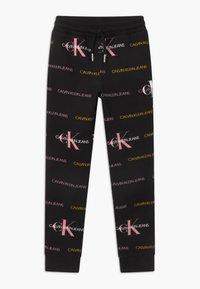 Calvin Klein Jeans - LOGO - Trainingsbroek - black - 0