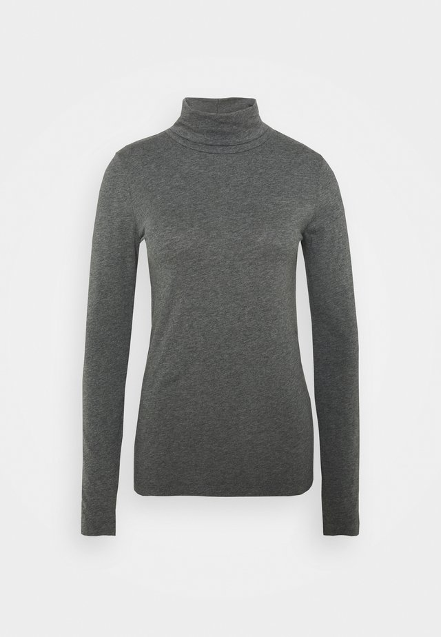 TISSUE TURTLENECK TEE - Topper langermet - heather slate