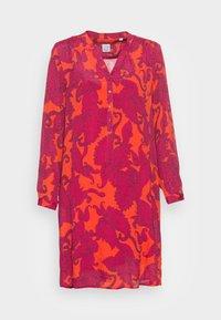 Emily van den Bergh - DRESS - Shirt dress - pink red - 3