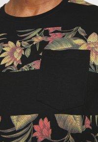 INDICODE JEANS - EPSLEY - T-shirt print - black - 3