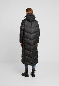G-Star - WHISTLER HOODED DOWN LONG - Doudoune - dark black