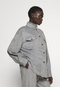 WEEKEND MaxMara - Button-down blouse - light grey - 4