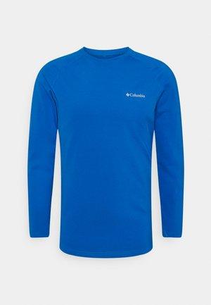 OMNI HEAT CREW - Undershirt - bright indigo
