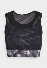 Everlast - BRA QUARTZ - Medium support sports bra - black - 5