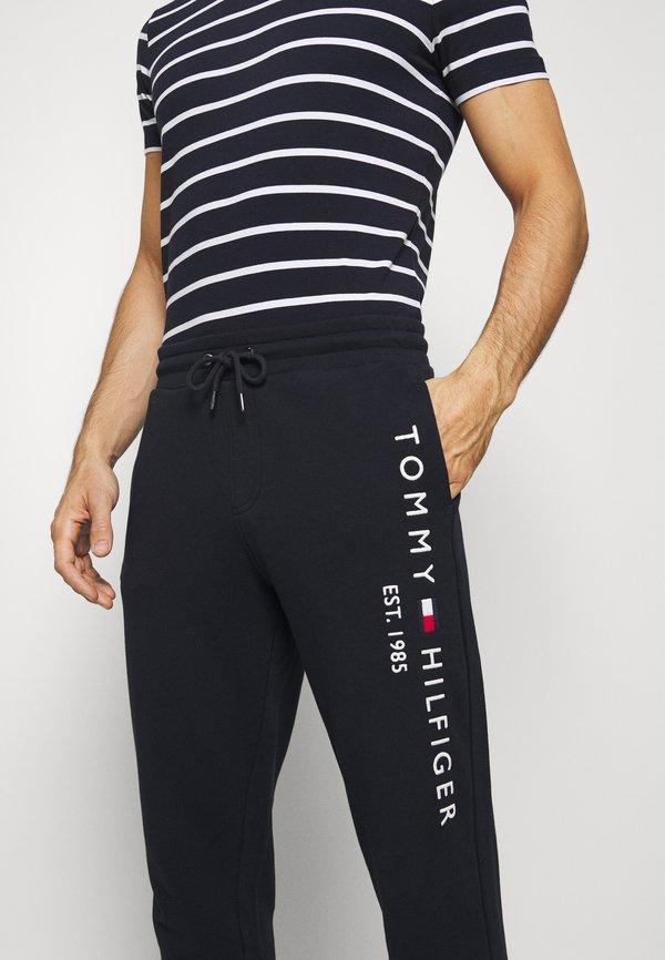 Tommy Hilfiger Spodnie treningowe - blue/granatowy Odzież Męska NHOU