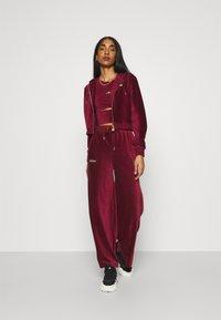 Ellesse - VALERIE - Trousers - burgundy - 1