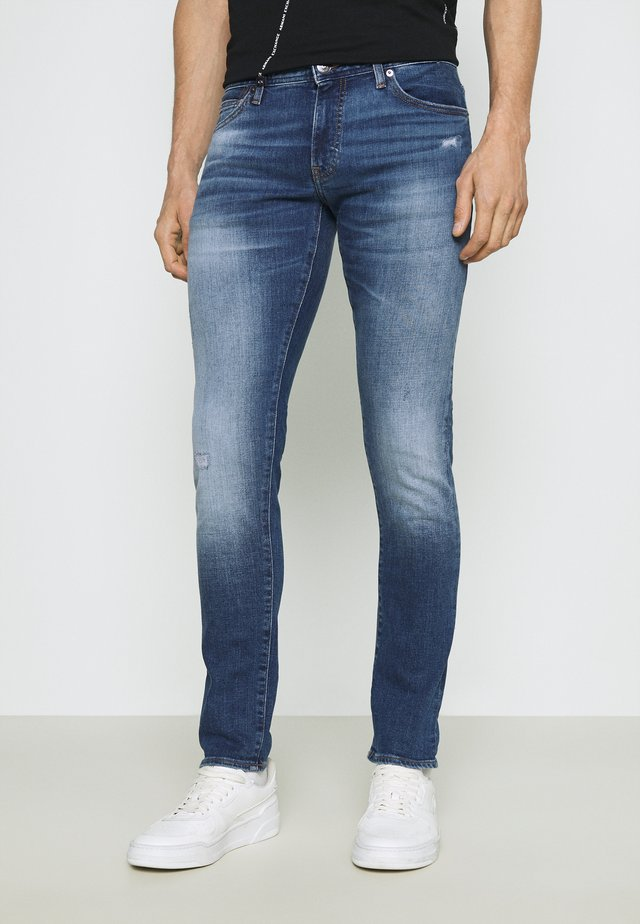 Jeans slim fit - indigo denim