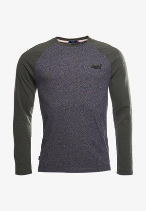 ORANGE LABEL - Long sleeved top - black grit