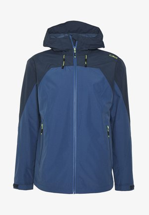 MAN MID JACKET FIX HOOD - Hardshell jacket - plutone