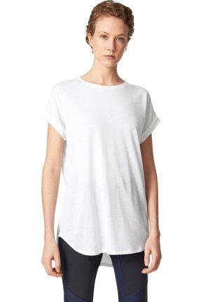 EVIE - Basic T-shirt - weiß