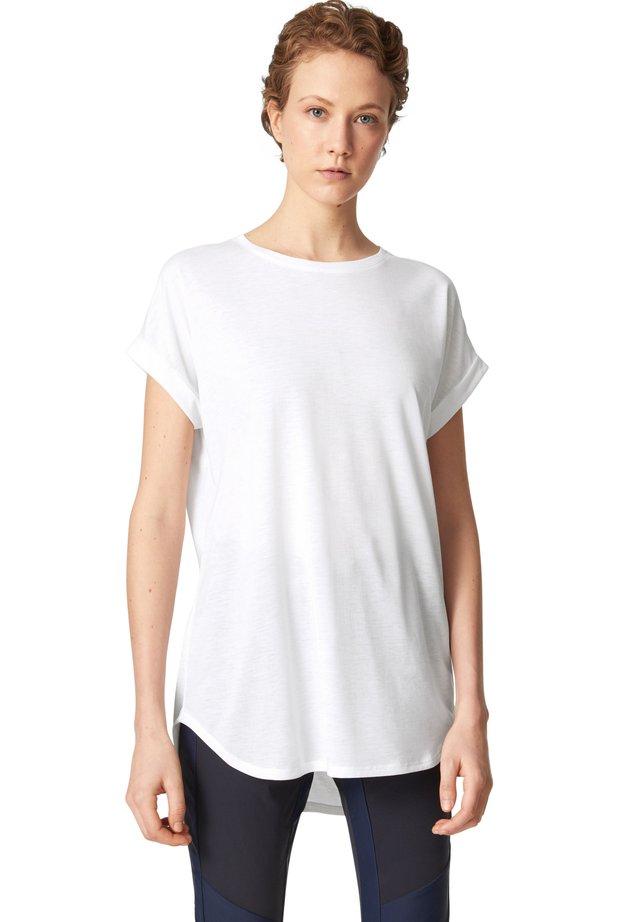 EVIE - Jednoduché triko - weiß