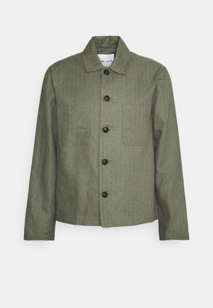 MILANO JACKET - Summer jacket - deep lichen green