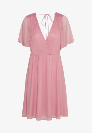 WIDE SLEEVE DRESS - Cocktailkjoler / festkjoler - rose