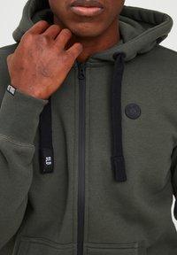 Solid - BENE - Zip-up sweatshirt - climb ivy - 3