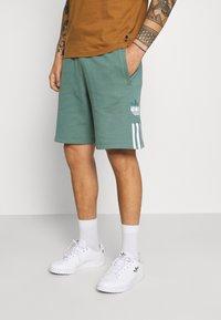 adidas Originals - Shorts - hazy emerald - 0