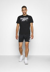 Reebok - TEE - T-shirts print - black - 1