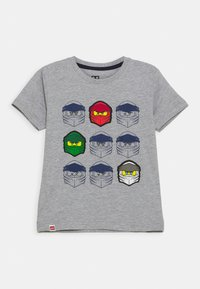 LEGO Wear - Print T-shirt - grey melange - 0