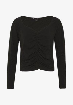 MONIKA TOP - Long sleeved top - black