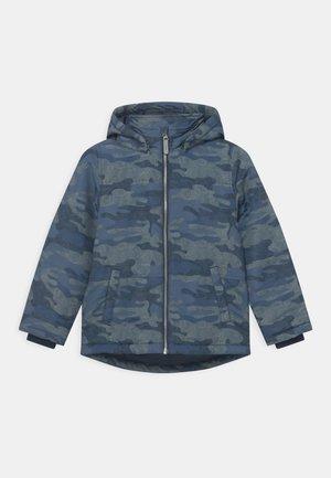 NKMMAX CAMO - Winter jacket - dark sapphire