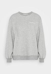 Abercrombie & Fitch - ITALICS SEAMED LOGO CREW - Sweatshirt - grey - 6
