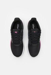 adidas Performance - EQ19 RUN - Hardloopschoenen neutraal - core black/iron metallic/screaming pink - 3