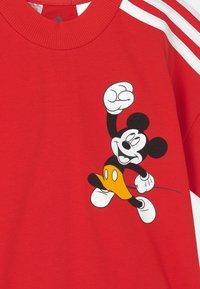 adidas Performance - DISNEY MICKEY MOUSE TEE - Print T-shirt - vivid red/white - 2