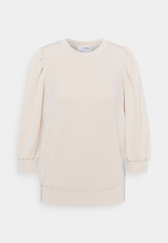 SLFTENNY - Sweatshirt - sandshell