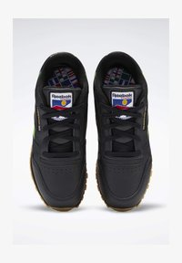 Reebok Classic - CLASSIC LEATHER SHOES - Sneakers laag - black - 1