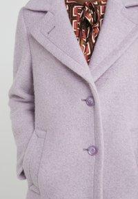 Sand Copenhagen - COLD DYED CLARETA LONG - Classic coat - soft purple - 5