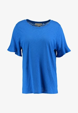 SLUB TEE - Basic T-shirt - grecian blue