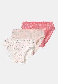 Petit Bateau - 3 PACK - Briefs - pink/off-white - 0