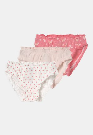 3 PACK - Briefs - pink/off-white