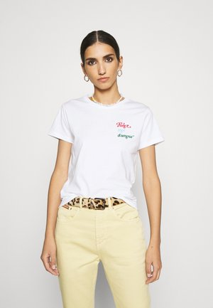 TEE MICH PARLEZ MOI D'AMOUR - T-shirt print - white