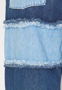 The Ragged Priest - STRIPE PANEL DAD  - Jeans straight leg - blue - 6