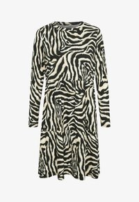 Kaffe - Day dress - black/beige zebra print - 3