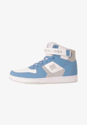Baskets montantes - white/lt blue