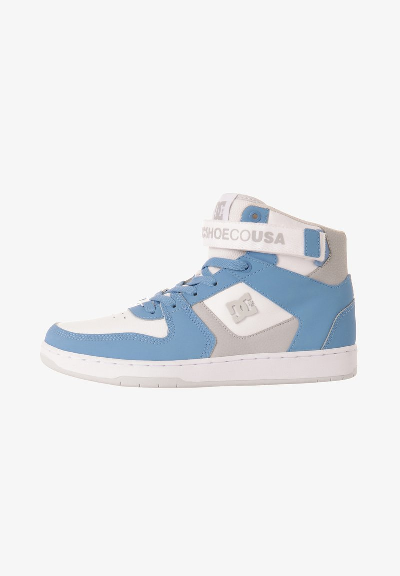 DC Shoes - High-top trainers - white/lt blue