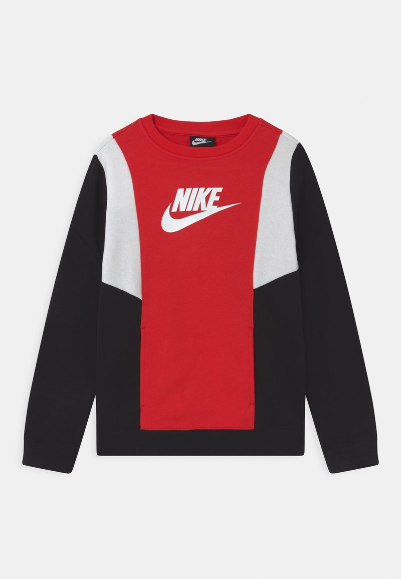 Nike Sportswear - AMPLIFY CREW - Sweatshirt - university red/black/white